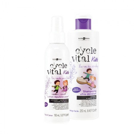Anti Luizen Shampoo Eugène Perma Cycle Vital Kids